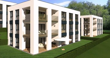 In bester Aussichtslage am Donauerweg nähe Bildungshaus in St. Magdalena – Linz Urfahr werden 6 Wohnhäuser mit je 3 Wohneinheiten geplant.