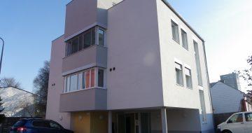 Für die Diakonie wurde in der Prechtlerstraße in Linz ein Neubau für ihre heilpädagogische Kindergruppen ein Sonderkrankenhaus errichtet.