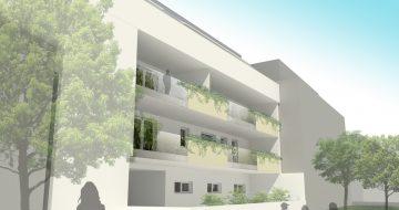 Im Zentrum von Gallneukirchen soll das Wohn- und Geschäftshaus - neue Wohnungen, Büros und Geschäftsflächen  bzw. Geschäftsräume - umgestaltet werden.