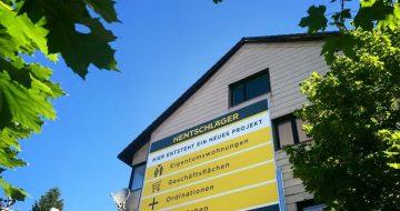 Am Areal der Leonfeldner Straße 207, 4040 Linz entsteht ein neues Wohn- und Geschäftsobjekt mit verschiedenen Nutzungsmöglichkeiten.