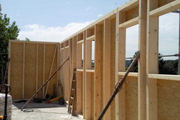 Riegelbau - Holz-Riegel-Wände - Holzriegelbau - Innenausbau - Zimmerer - Holzbau - Holzdesign -Wohnhaus - Zimmerei - Mansardenwohnung - Wohnraumvergrößerung