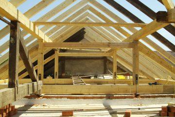 Dachstühle - Dachstuhl - Strandbar - Gartenhaus - Holzdesign - Holzbau - Zimmerer - Gemeindezentrum - Wohnhaus - Dach - Dachstuhlkonstruktion