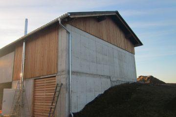 Landwirtschaftliche Bauten - Aufstockung - Bau - Privatbau - Hallenbau - Lager - moderne Bauweise - Planung - Bauplanung - Baubetreuung