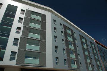Wohnbau - Wohnen - Wohnkomplex - Wohnhäuser - Eigenprojekt - Mehrfamilienhaus - Neugestaltung - Bauwerk