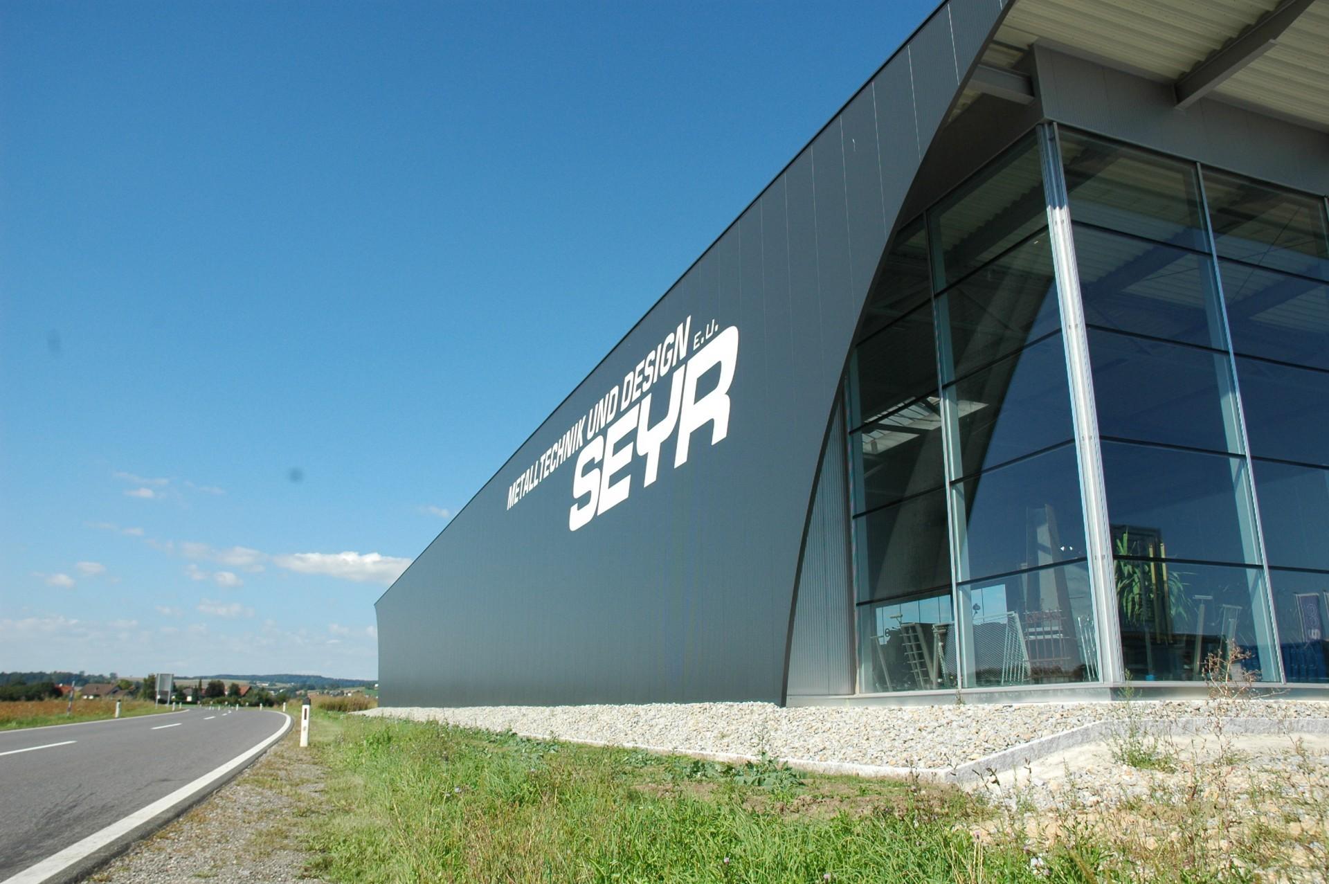 Produktionshalle Schwertberg - Hallenbau, Hallendesign