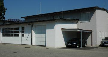 Rotes Kreuz St. Georgen - Umbau und Zubau - Hentschläger Bau GmbH - Baufirma in Langenstein