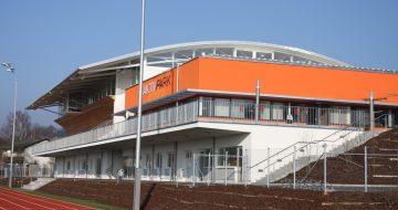 Aktivpark - Kommunalbau - Sporthalle - Hentschläger Bau GmbH - Baufirma in Langenstein