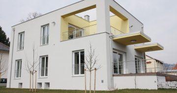 Bauträger in Linz, Baufirma in Linz - Wir planen und bauen Ihr Haus - Dachterrasse - Wohnhaus Bachlfeld - Neubau - Hentschläger Privatbau