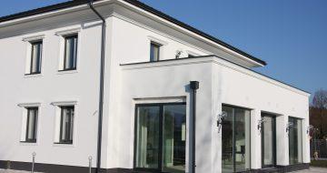 Baufirma in Linz - Planung - Architektur - Neubau - Wohnhaus Mauthausen - Hentschläger Privatbau - Einfamilienhaus