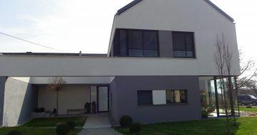 Wir bauen und planen Ihr Haus! -Privatbau - Wohnhaus - Mauthausen - Neubau - Hentschläger Privatbau - Architektur