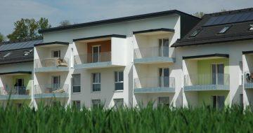 Dieses Wohnprojekt ist eine Wohnanlage mit 15 Mietwohnungen die wir im Mai 2015 offiziell an die Firma Ebersteiner übergaben.