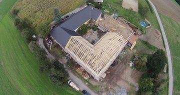 Dachstuhlerneuerung - Vierkanthof- Ried - Hentschläger Holzbau - Zimmerei