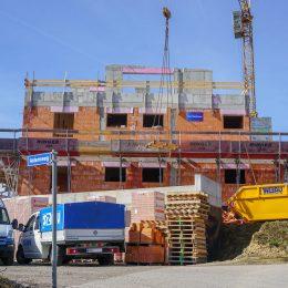 Aktueller Baustatus - Haus 21