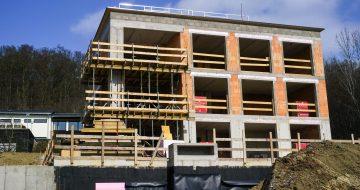 Derzeitiger Baustatus Haus 3