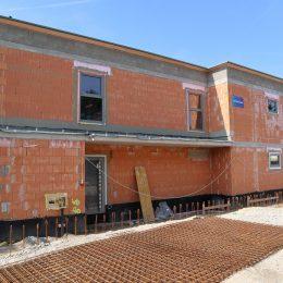 Aktueller Baustatus - Haus 23