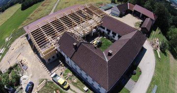 Dachstuhl Münzbach - Hentschläger Holzbau