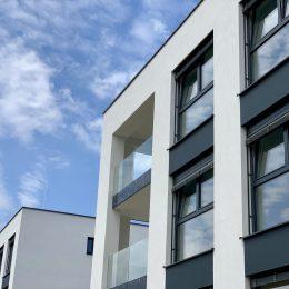 Glasflächen - Balkon