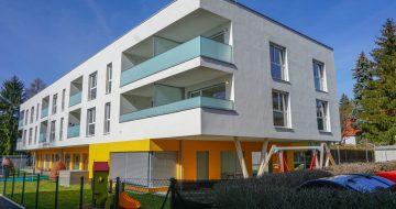 Eigentumswohnungen und Krabbelstube in St. Georgen an der Gusen - Hentschläger Bau GmbH - Baufirma in Langenstein