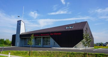 Feuerwehrhaus Au an der Donau - Hentschläger Bau GmbH - Baufirma in Langenstein - Kommunalbau