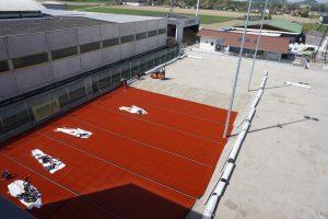 Tennisplatz Langenstein - Hentschläger Bau GmbH