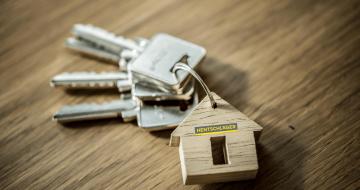 Privathausbau Schlüssel