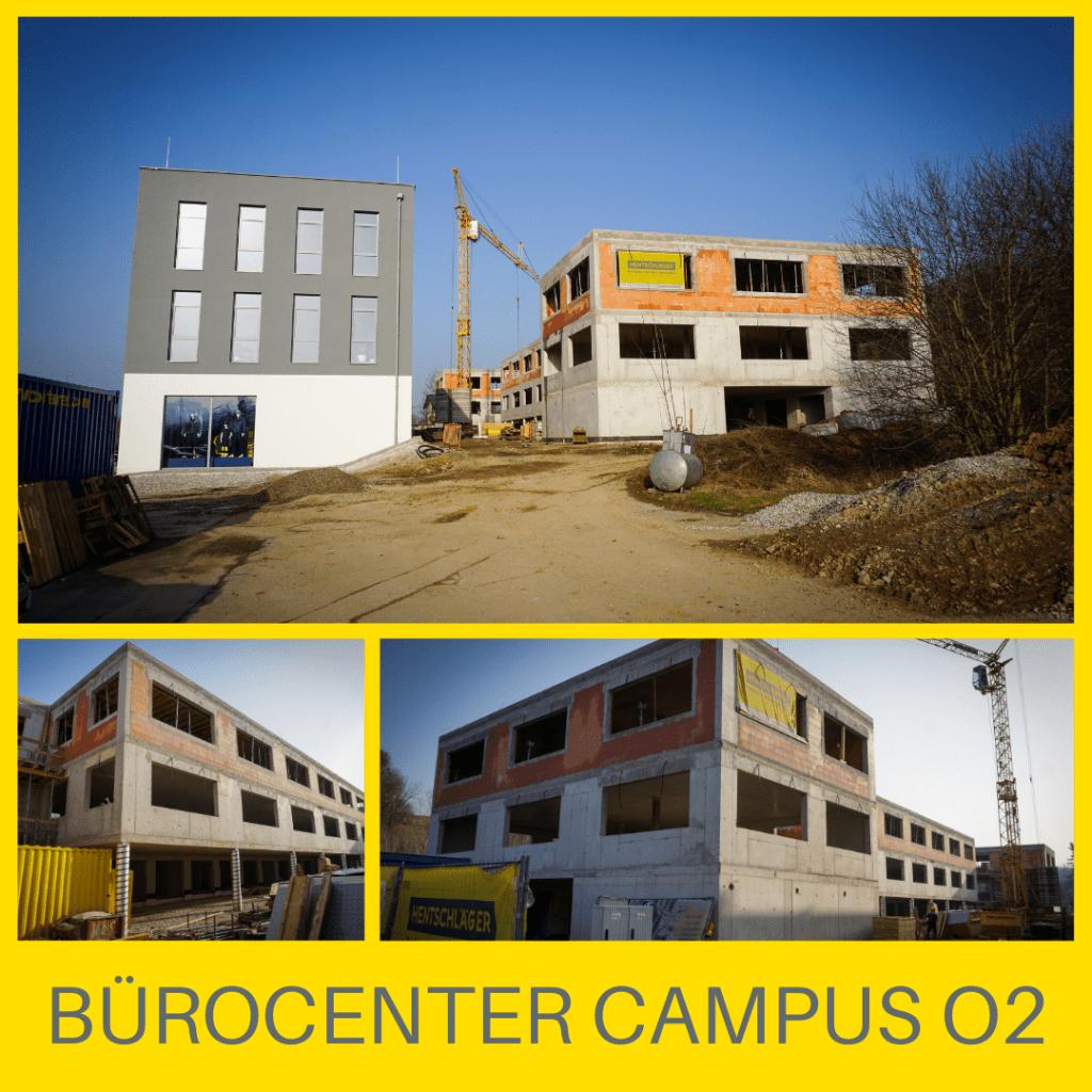 Bürocenter und Garagenpark Ottensheim - Hentschläger Bau GmbH
