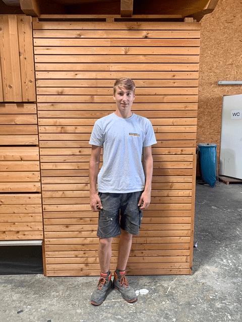 Herzliche Gratulation Peter - Lehre bei Hentschläger Bau