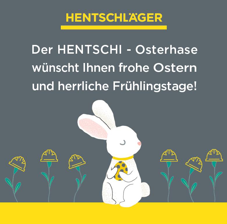 Frohe Ostern wünscht Hentschläger Bau GmbH