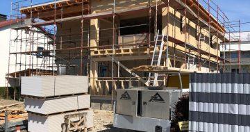 Aufstockung Perg Holzriegelbau - Hentschläger Bau GmbH -Hentschläger Zimmerei