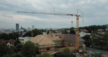 Dachstuhl - Hentschläger Holzbau - Waldorfpädagogik Linz