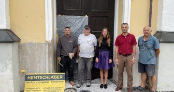 Kirchensanierung - Hentschläger Bau