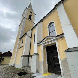 Sanierung der Kirche St. Georgen - Hentschläger Bau GmbH