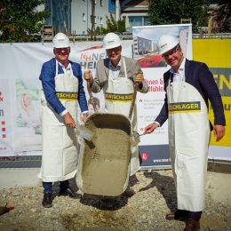 Grundsteinlegung EGW Schwertberg - Hentschläger Bau GmbH